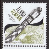 Aland 2009 New Border-New Times 1v complete unmounted mint